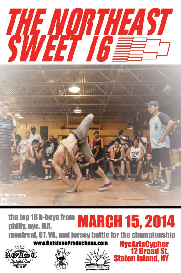 Northeast Sweet 16 Online Flier